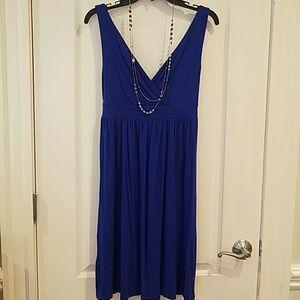 4 for $25 -Old Navy cobalt blue sleeveless dress S
